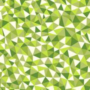 seamless texture with triangles, mosaic endless pattern - stock illustration