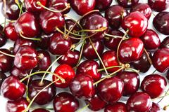 Ripe Cherry Stock Photos