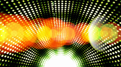 Abstract number across the screen,data code digital technology & rays light. Stock Footage
