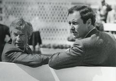 Lester Piggott, jockey, nine times Derby winner Stock Photos