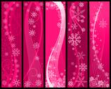 Stock Illustration of christmas and winter banners