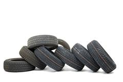 Tyre sets Stock Photos