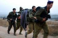 Stock Photo of idf soldiers stretcher journey