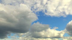 Clouds changing form in the wind. - stock footage