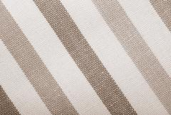 Stock Photo of closeup of grey gray white striped textile as background or texture