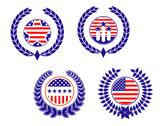 Stock Illustration of american patriotic symbols