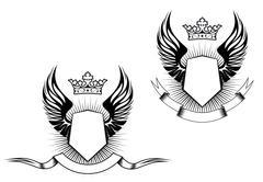 heraldry design - stock illustration