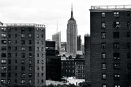 Stock Photo of empire state building in manhattan new york