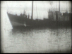 1889 Old boat Stock Footage