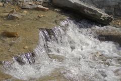 Burbling Stream - stock photo