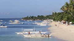 Island Panglao, Philippines Stock Footage