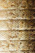Closeup shiny scales salmon fish as food animal background texture Stock Photos