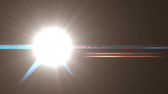 Light Flash Reveal Transition Stock Footage