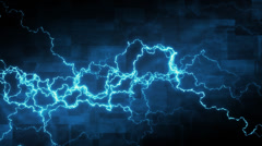 Abstract background with electric arcs Stock Footage