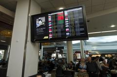 Auckland international airport Stock Photos
