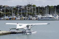 Westhaven marina auckland new zealand Stock Photos