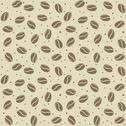 Stock Illustration of seamless coffee seed texture