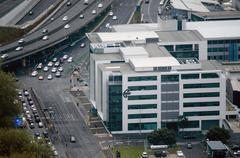 Air new zealand headquarters in auckland new zealand nz Stock Photos