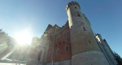 Neuschwanstein Castle Bavaria Germany Stock Footage
