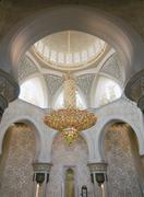 luxurious lustre in the mosque - stock photo