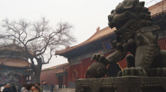 Beijing Lama Temple Yonghegong 03 Stock Footage