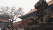 Stock Video Footage of Beijing Lama Temple Yonghegong 03