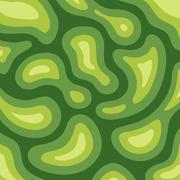 Golf field design background. abstract green pattern. Stock Illustration
