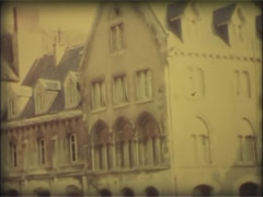 France 1970s - Super 8mm film 6. Archival. Stock Footage