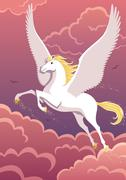 Pegasus Stock Illustration