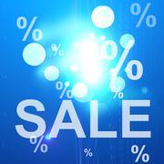 Modern background modern sale look Stock Illustration