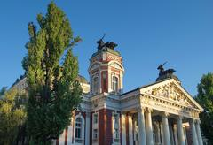 Public Theatre Ivan Vazov - stock photo