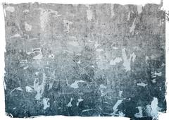 highly detailed grunge background frame - stock illustration