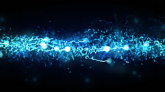 Blue Magic Background Stock Footage