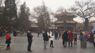 Stock Video Footage of Beijing Lama Temple Yonghegong 04
