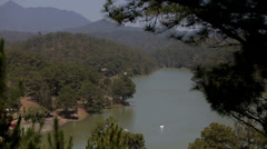 Da Thien Lake, Da Lat Vietnam Stock Footage