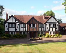 Stock Photo of British Tudor home