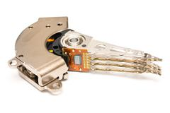 Computer Hard Disk Drive Actuator Stock Photos