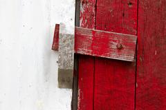 locked door - stock photo