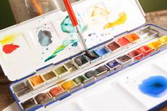 Watercolor Stock Photos