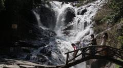 Datanla Waterfalls, Vietnam Stock Footage