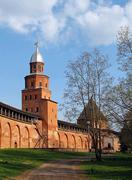 Novgorod citadel - stock photo