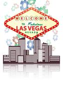Las vegas Stock Illustration