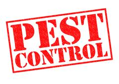 Pest Control - stock illustration