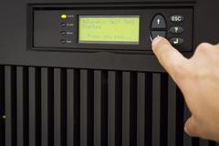 Uninterruptible power supply Stock Photos