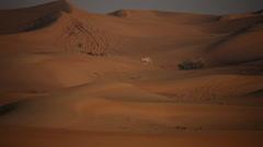 Dubai Desert United Arabic Emirates Stock Footage