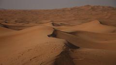 Desert of Dubai Stock Footage