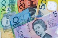 Stock Photo of Australian bank notes