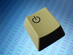 Computer key Stock Photos