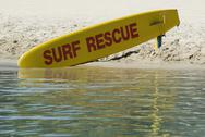 Stock Photo of Surf Rescue