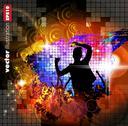 Stock Illustration of Music dance background